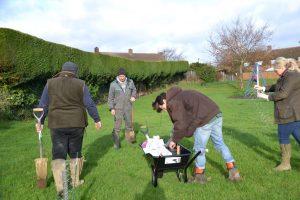 Thrapston YFC Tree Planting