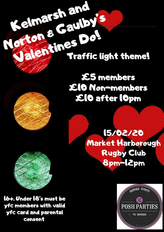 Kelmarsh and Norton & Gaulby's Valentine's Do